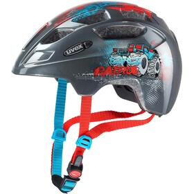 UVEX Finale Bike Helmet Children LED black/colourful